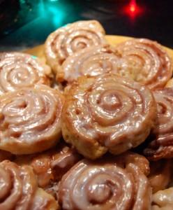 Biscuits Chignons Leia avec le glaçage