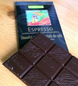 Tablette chocolat noir Rapunzel Espresso Bio
