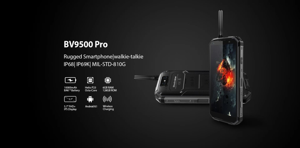 Of the most durable phones, the Blackview BV9500 pro is the most dust resistant