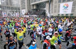 東京マラソン2015 トップ2