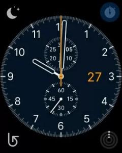 AppleWatchのスクリーンショットの画像