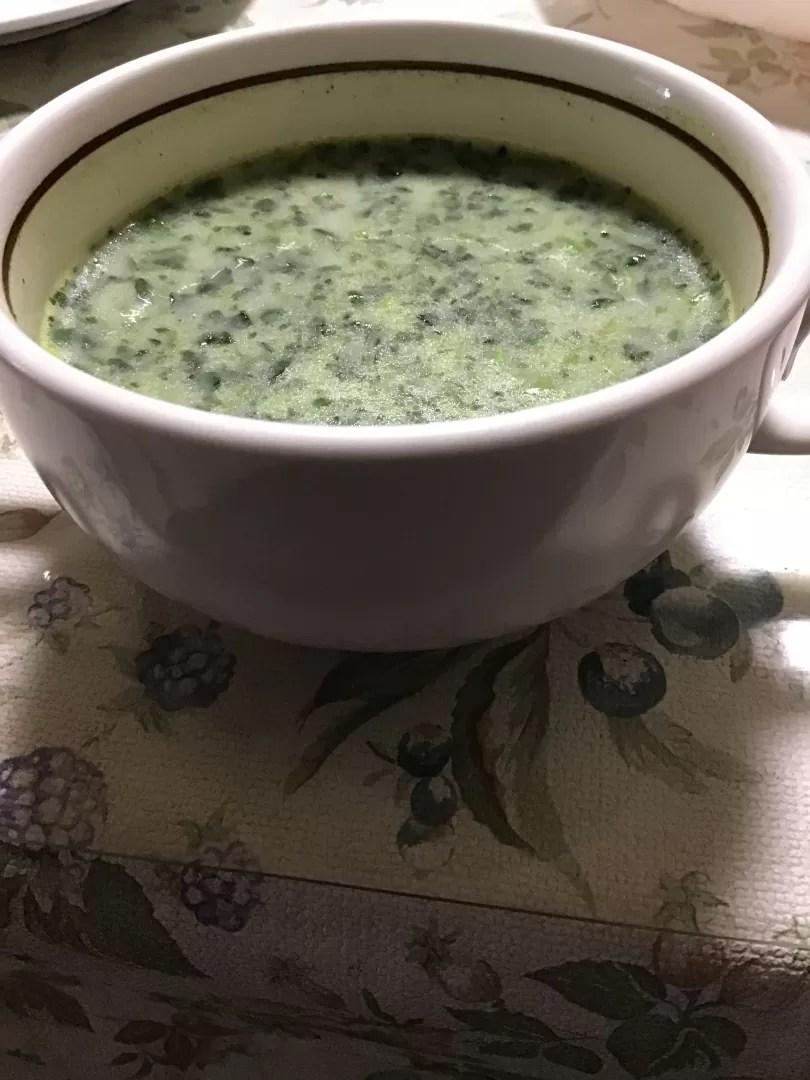 スープの写真