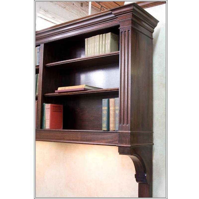 Bookcase Headboard Lights