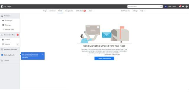 Email Marketing Facebook