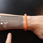 Innovation: le  Cicret Bracelet, le smartphone dans la peau
