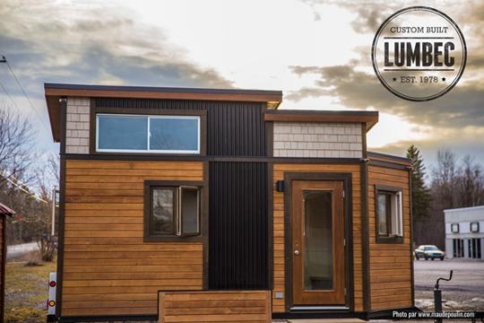 La tendance des mini-maisons gagne l'Abitibi