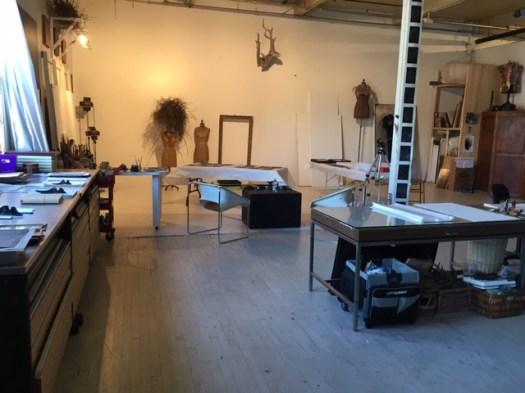 Atelier de Danielle Julien artiste arts visuels