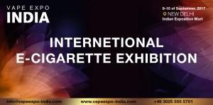 Vape Expo India est annulée