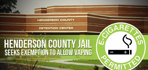 In Henderson, vaping ban in prison questioned by county jailer