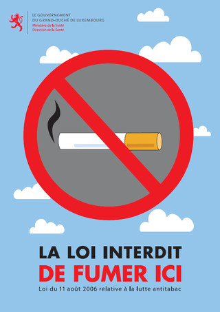 Mesures anti-tabac au Luxembourg