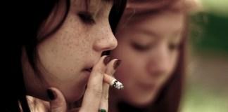 La première cigarette chez les jeunes