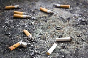 Mesures anti-tabac - Mégots de cigarettes