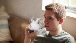 According to Public Health England, youth vaping doesn't lead to youth smoking
