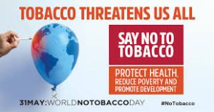 World no Tobacco Day - Tobacco kills 7 million people each year