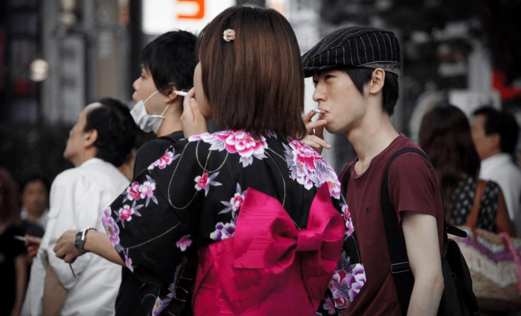 fumeurs japon