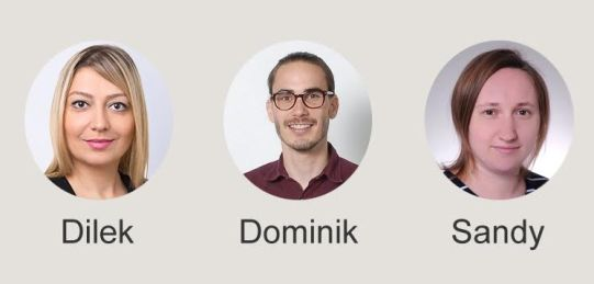 Dilek, Dominik, Sandy