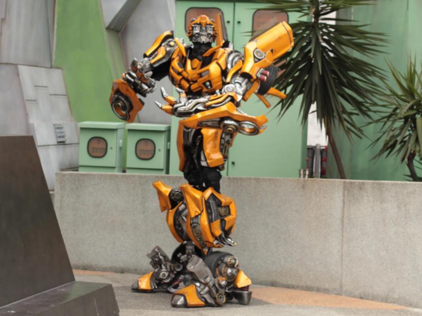 Singapur Universal Studies Transformers