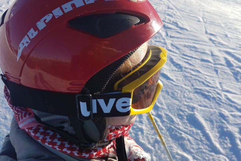 Ski fahren Austria Kinder