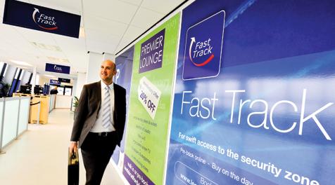 Service de fast track et concierge de l'aéroport