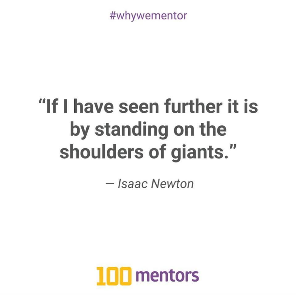 Introducing our newest series whywementor highlighting the true importance ofhellip