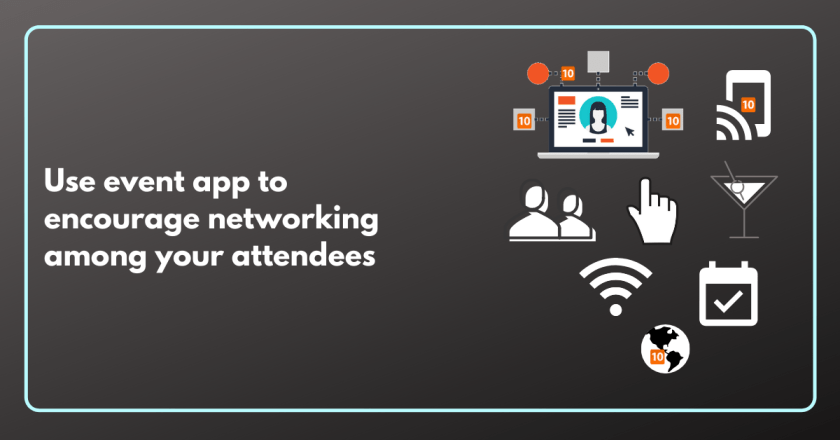 How to use event app to encourage networking among your attendees