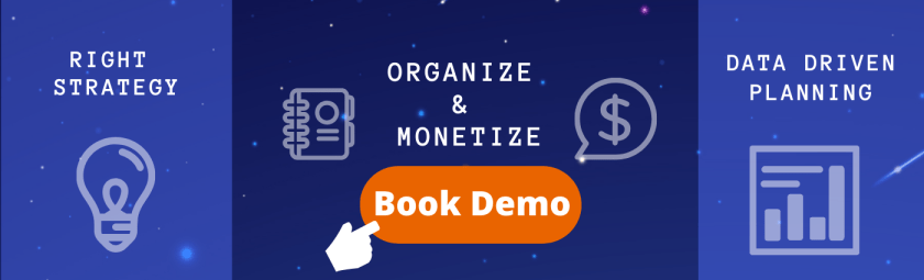 Organize and monetize virtual event