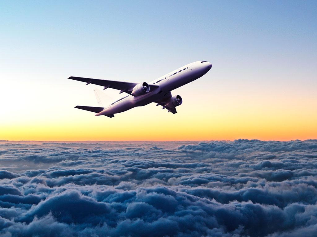 Avião é seguro