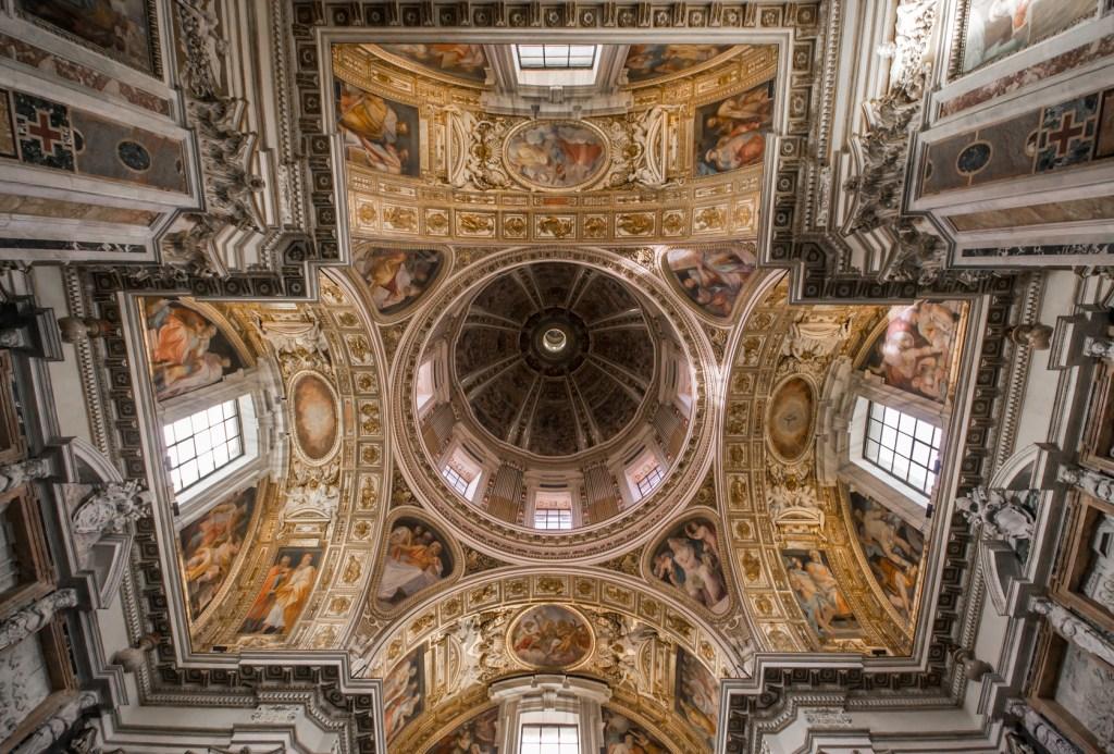 7 dias pela Itália. Teto da Capela Sistina.