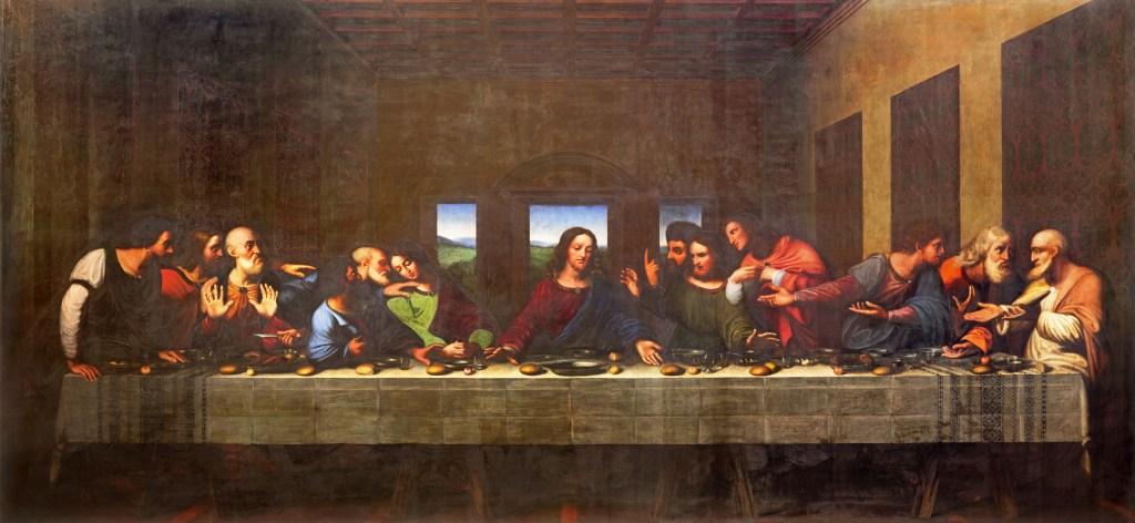 7 dias pela Itália. A Última Ceia, de Leonardo Da Vinci.