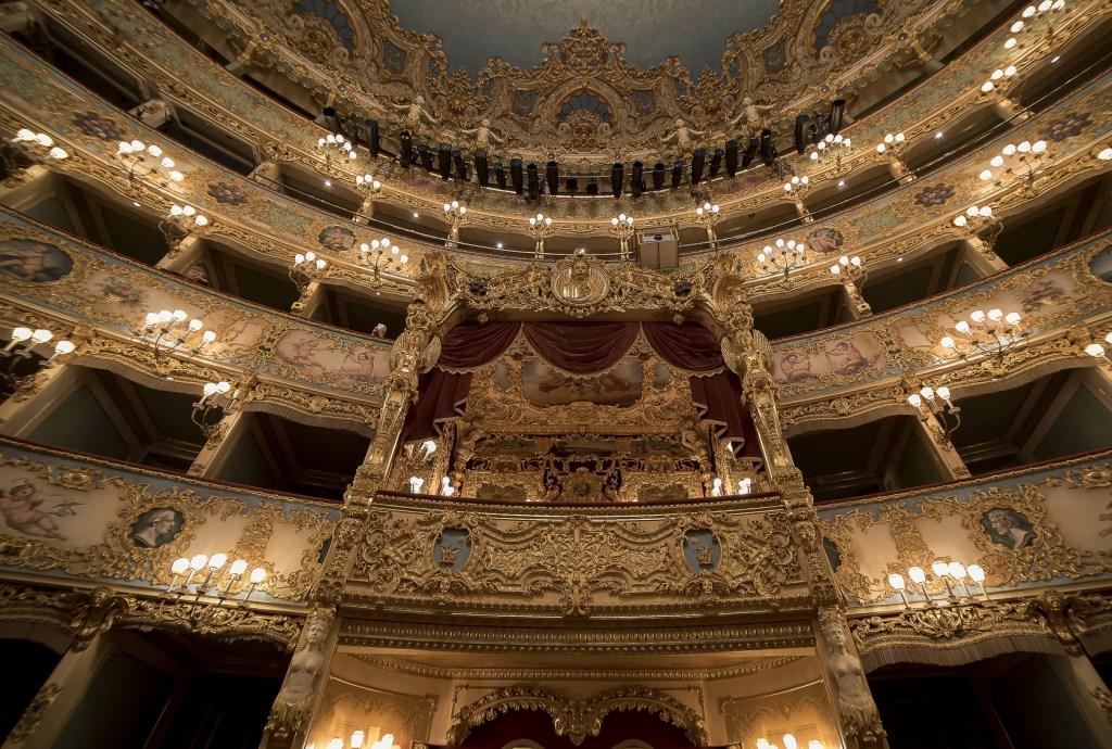7 dias pela Itália. Teatro La Fenice.