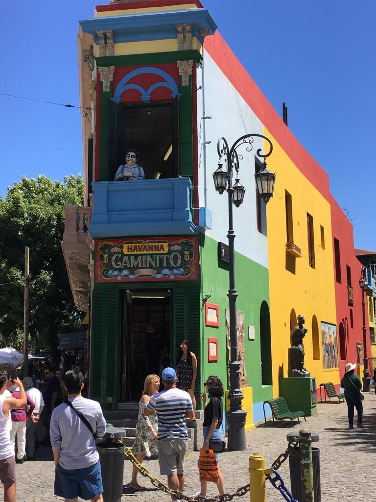 El Caminito em Buenos Aires