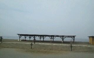 海まで来てみた。 #カブ110