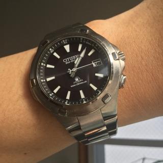 分解清掃してもらったよー。 #シチズン #腕時計