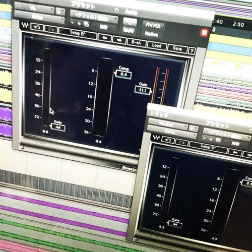 VoUpなう、ふぅ。 #protools #waves #rvox