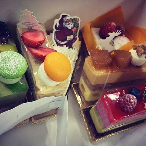 メリクリ♪差し入れでケーキを頂きました、ごちそうさまです!#merrychristmas #ケーキ  #クリスマス
