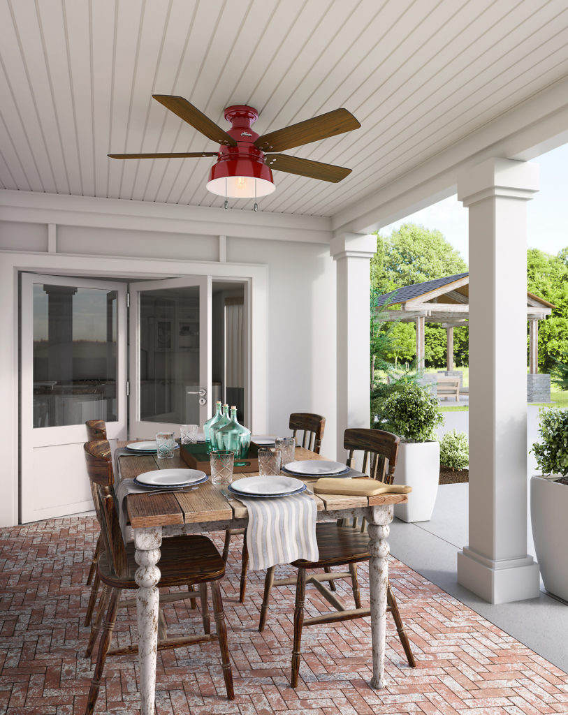 patio oasis with these outdoor ceiling fans