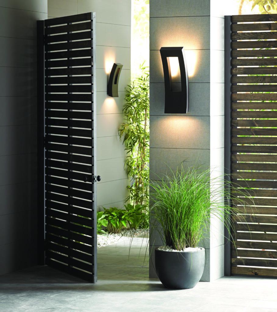 modern outdoor wall light ideas for