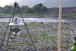 河原で無料キャンプ ◆新荘川(高知県須崎市)