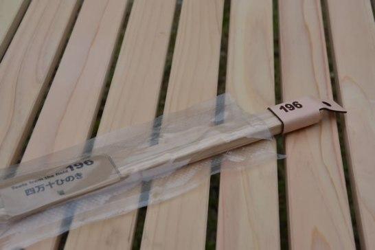 ソロ キャンプ 用品 道具 箸 はし 四万十ひのき