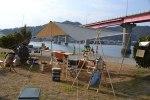 【高知】月一キャンプの報告!今回は土佐市宇佐町の海岸でキャンプしてきました^^