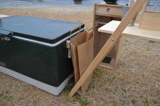 キャンプ ゴミ箱