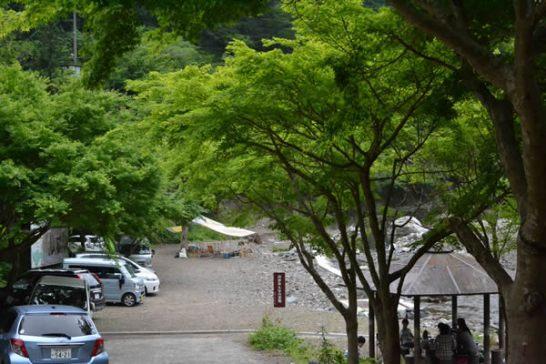 高知市 キャンプ 鏡川源流憩いの広場 土佐山