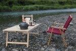 ユニフレーム焚き火テーブルにシンデレラフィットするウッドテーブルを作りました ( ´ ▽ ` )ノ