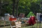 【高知でキャンプ】9月のキャンプはタープいらずで超快適^^!