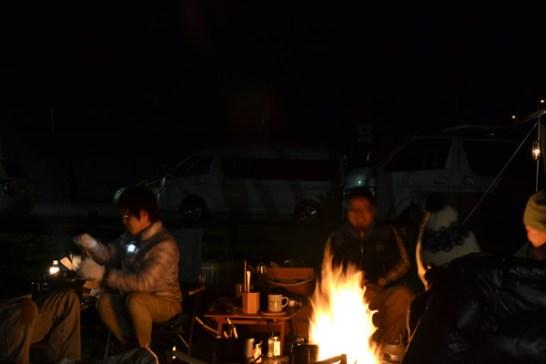 キャンプ 高知 焚き火
