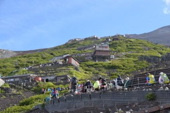 ブラックダイヤモンド トレッキングポール 富士山