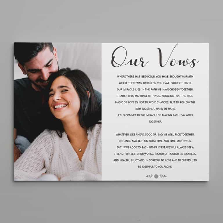 35 Sweetest First Anniversary Gift Ideas For Him Her Couples 365canvas Blog