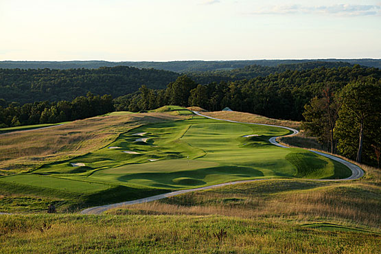 French lick hill golf course in