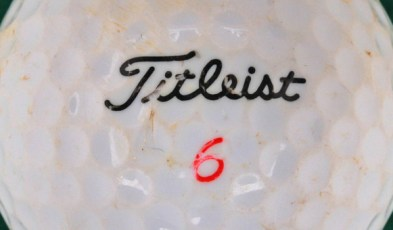 Types of Titleist golf balls