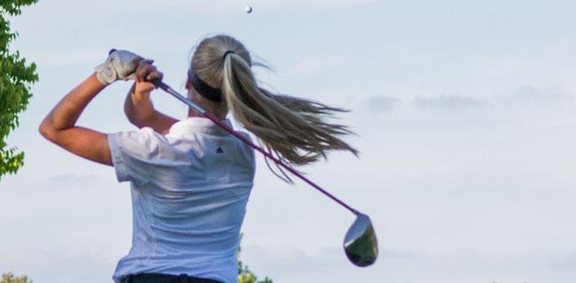 Women's Golf clubs women golfing
